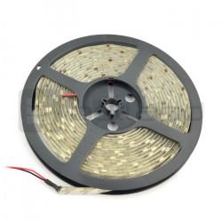 Pasek LED SMD5050 IP65 7,2W, 30 diod/m, 10mm, barwa zimna - 5m