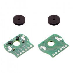 Magnetic Encoder Pair Kit for Mini Plastic Gearmotors, 12 CPR, 2.7-18V