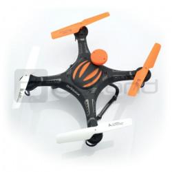 Dron quadrocopter OverMax X-Bee drone 2.5 2.4GHz z kamerą HD - 38cm + dodatkowy akumulator + obudowa