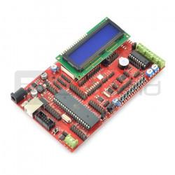 Zestaw uruchomieniowy EvB 5.1 z procesorem ATMega644P + kurs BASCOM