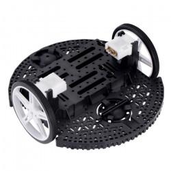 Pololu Romi Chassis Kit - 2-kołowe podwozie robota - czarne