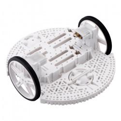 Pololu Romi Chassis Kit - 2-kołowe podwozie robota - białe