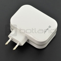 Universal USB charger Tracer 4x USB 5V 6,8A - white