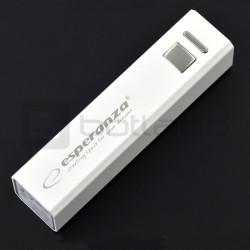 PowerBank Esperanza Erg EMP102K 2400mAh white