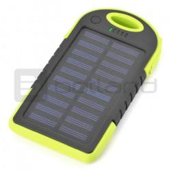 Mobilna bateria PowerBank Esperanza Solar Sun EMP109KG 5200mAh - zielona