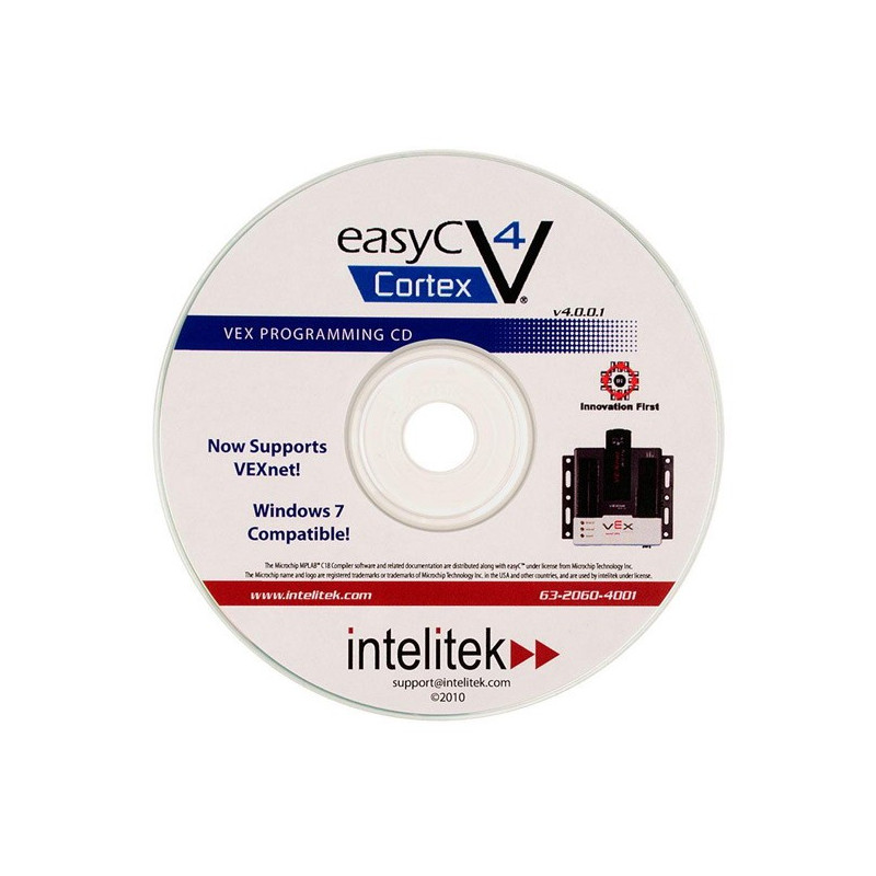 VEX easyC software