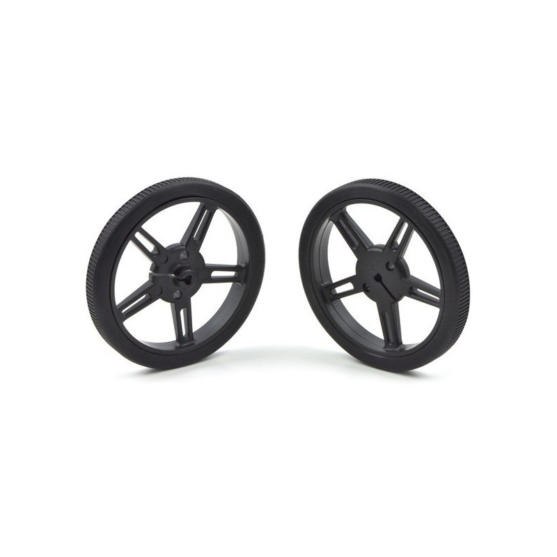 Wheel 60x8mm - black - 2pcs. - Pololu 1420*