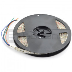 Pasek LED SMD3528 IP20 4,8W, 60 diod/m, 8mm, barwa ciepła - 5m