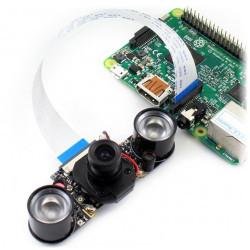 Camera HD Night Vision IR-CUT - kamera IR dla Raspberry Pi + moduły IR