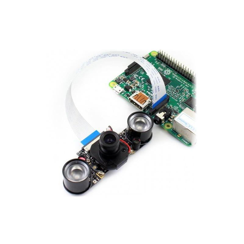 OdSeven Camera HD IR-CUT OV5647 5Mpx - day/night IR for Raspberry Pi + IR modules*
