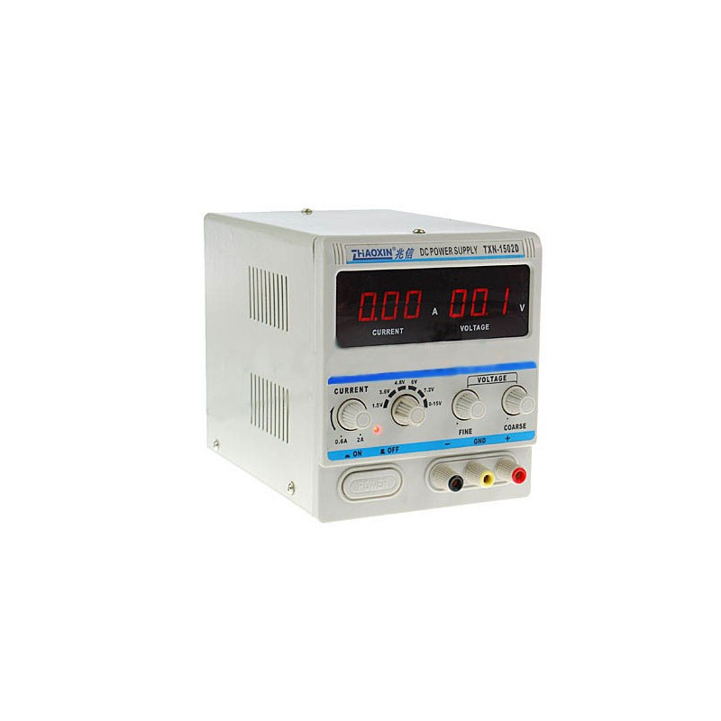 Laboratory power supply Zhaoxin LED PXN-1505D 15V 5A