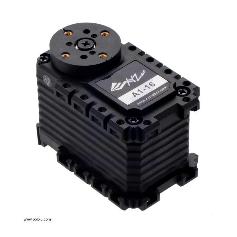 XYZrobot Smart Servo A1-16 - continuous 25kg*cm - Pololu 3400_