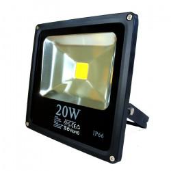 Lampa zewnętrzna LED ART slim, 20W, 1200lm, IP66, AC90-240V, 3000K - biała ciepła