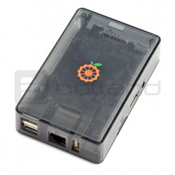 Obudowa do Orange Pi PC Plus 2e - przyciemniona