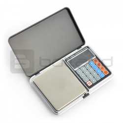 Kieszonkowa waga elektroniczna DP-01 - 1000g / 0,1g