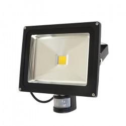 Lampa zewnętrzna LED ART HQ PIR z czujnkiem ruchu, 30W, 2700lm, IP65, AC80-265V, 4000K - biała neutralna