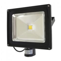 Lampa zewnętrzna LED ART EKO PIR z czujnkiem ruchu, 50W, 3000lm, IP65, AC80-265V, 4000K - biała neutralna