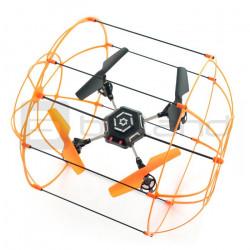 Dron quadrocopter OverMax X-Bee drone 2.3 2.4GHz - 26cm + 2 dodatkowe akumulatory