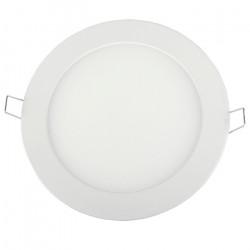 Panel LED ART SLIM podtynkowy okrągły 17cm, 3W, 840lm, AC80-265V, 3000K - biała ciepła