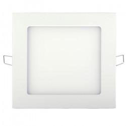 Panel LED ART SLIM podtynkowy kwadratowy 8,5cm, 3W, 210lm, AC80-265V, 3000K - biała ciepła