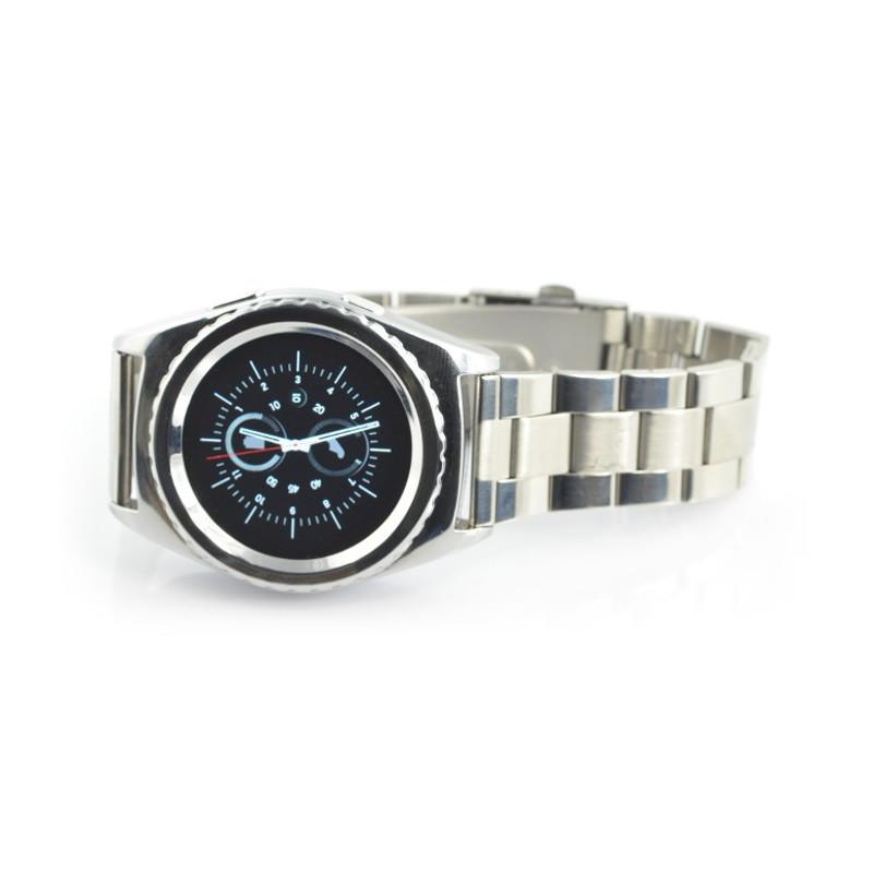 SmartWatch NO.1 G4 srebrny - inteligetny zegarek