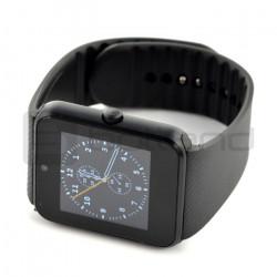 SmartWatch GT08 NFC SIM czarny - inteligetny zegarek z funkcją telefonu