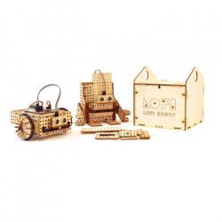 Lofi Robot - zestaw do budowy robota - wersja Edubox mini