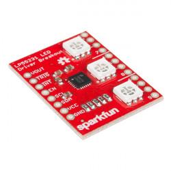 Sparkfun - sterownik LED LP55231 z trzema diodami RGB