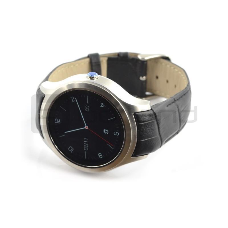 SmartWatch NO.1 D5+ srebrny - inteligetny zegarek