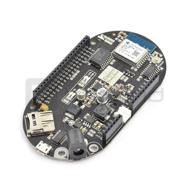 ElektroPrzewodnik ŁajFaj - platforma WiFi zgodna z Arduino IDE