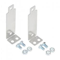 Pololu Bracket Pair for Sharp GP2Y0A02, GP2Y0A21, and GP2Y0A41 Distance Sensors - Perpendicular