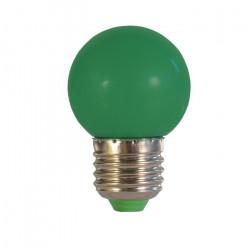 Żarówka LED ART E27, 0,5W, 30lm, zielona