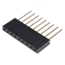 Gniazdo żeńskie przedłużone 1x9 raster 2,54mm dla Arduino