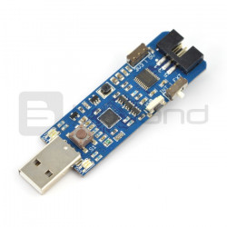 Programator AVR MKII MINI zgodny z MKII ISP - złącze USB