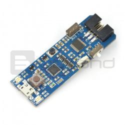 Programator AVR MKII MINI zgodny z MKII ISP - złącze microUSB