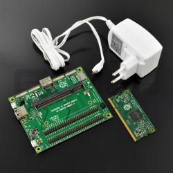 RPI 3 Compute Module Dev Kit - RPI CM3, RPI CM3 I/O i zasilacz