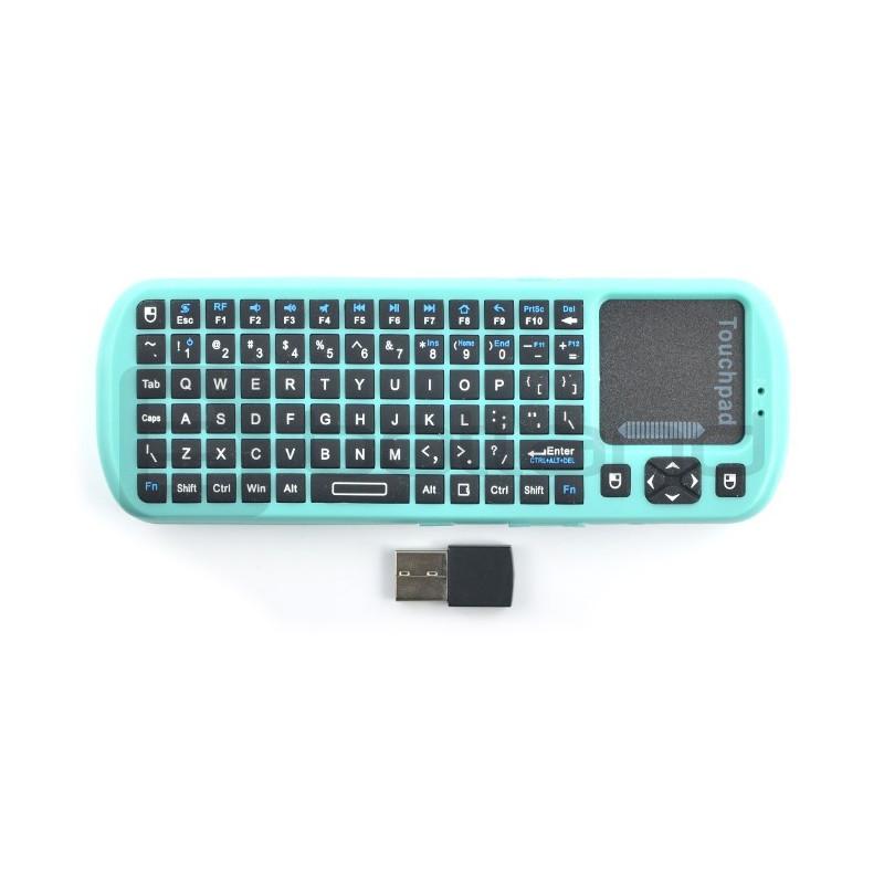 Klawiatura bezprzewodowa + touchpad dla PineA64+
