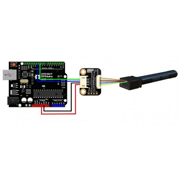 Gravity: Analog Infrared CO2 Sensor For Arduino (0~50000 ppm)*