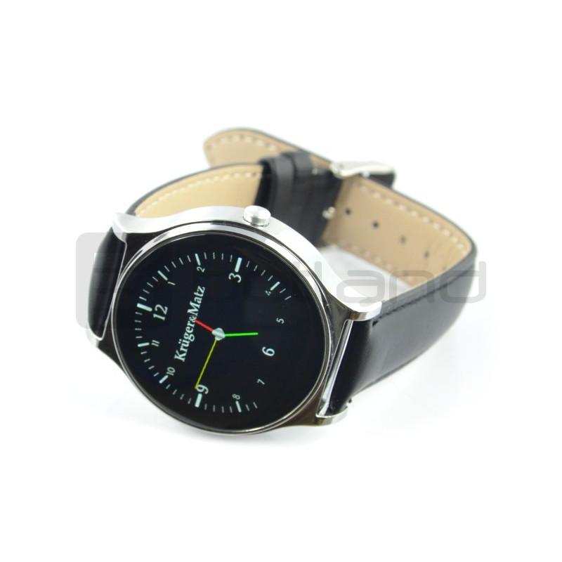 Smartwatch Kruger&Matz Style KM0431 - czarny - inteligetny zegarek