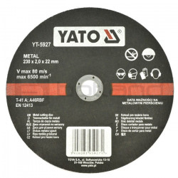Metal cutting disc Yato YT-5927