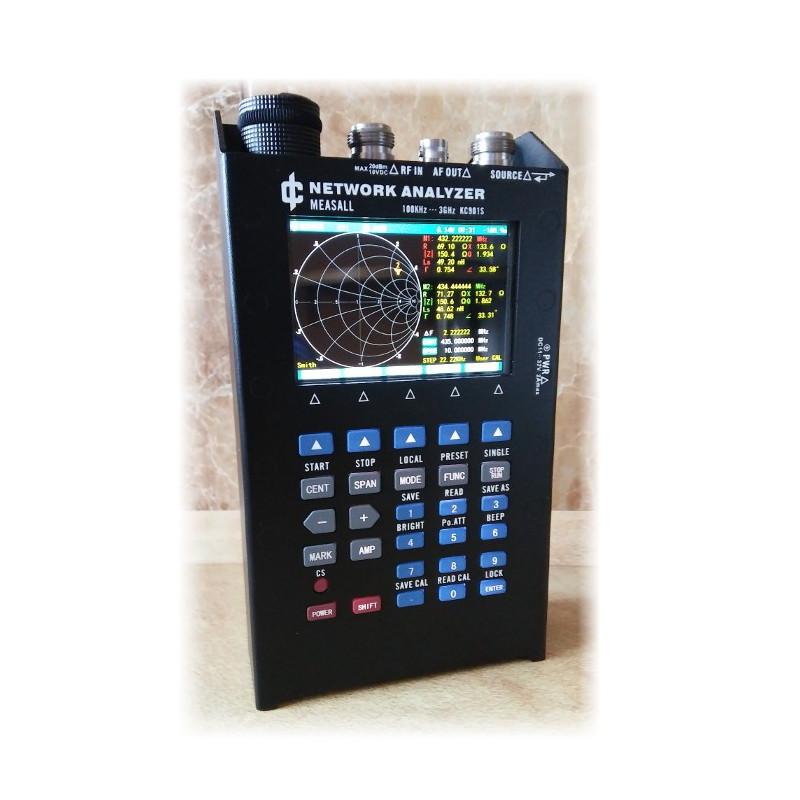 Przenośny analizator antenowy i widma KC901S - 3GHz