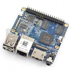 NanoPi A64 - Allwinner A64, Quad-Core 1,15GHz + 1GB RAM