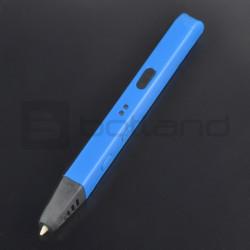 Pióro drukujące Wooler Slim długopis 3D - niebieskie
