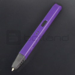 Pióro drukujące Wooler Slim długopis 3D - fioletowe
