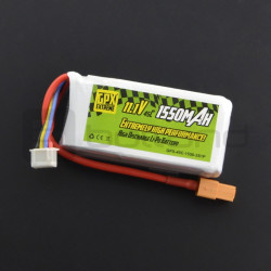 Pakiet Li-Pol GPX Extreme 1500mAh 45C 3S 11,1V