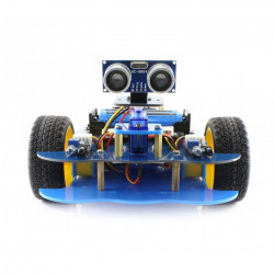 AlphaBot Basic - 2-kołowa platforma robota z czujnikami i napędem DC + Waveshare Uno Plus