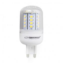 Bulb Esperanza G9, 4W, 350lm, 230V, warm white