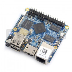 NanoPi M1 Plus - Allwinner H3 Quad-Core 1,2GHz + 1GB RAM + 8GB eMMC - WiFi + Bluetooth 4.0