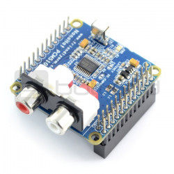 NanoHat PCM5102A - karta dźwiękowa dla NanoPi