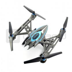 Dron quadrocopter OverMax X-Bee drone 7.1 2.4GHz z gimbalem i kamerą HD - 65cm + dodatkowy akumulator + ekran